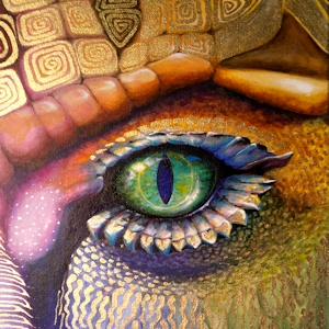 Drache Krafttier Bedeutung Kunst Malerei
