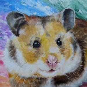 Hamster Krafttier Bedeutung Malerei Kunst
