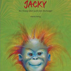 Kunst Bilderbuch über ein Orang-Utan Kind