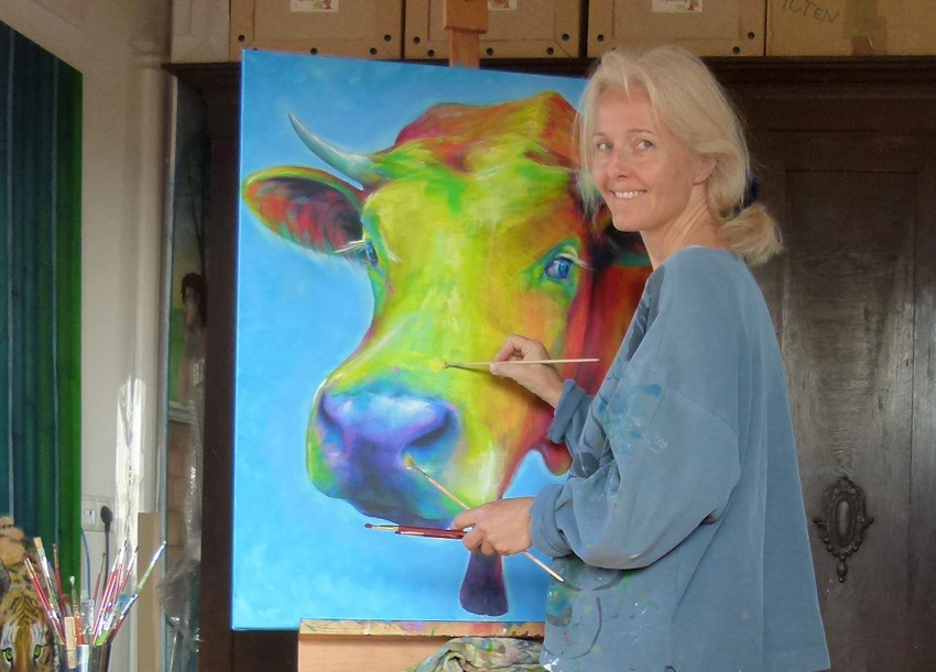 Über Mich der Schamanin und Künstlerin Sabine Koschier