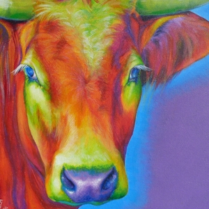 Kuh Krafttier Bedeutung Malerei Kunst