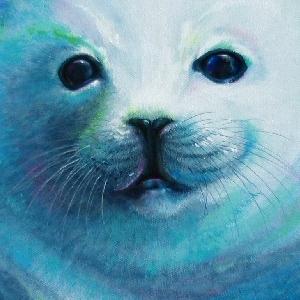 Robbe Krafttier Bedeutung Malerei Kunst