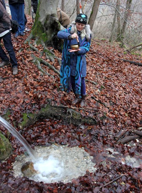 Wasserritual zum Märchen der Drei Bethen
