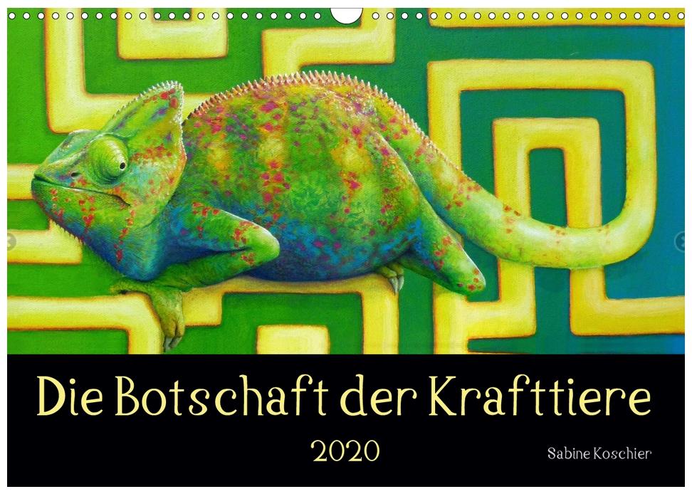 Die Botschaft der Krafttiere Kalender 2020