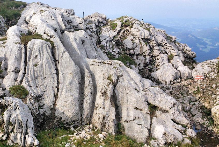 Gipfel des Untersberg
