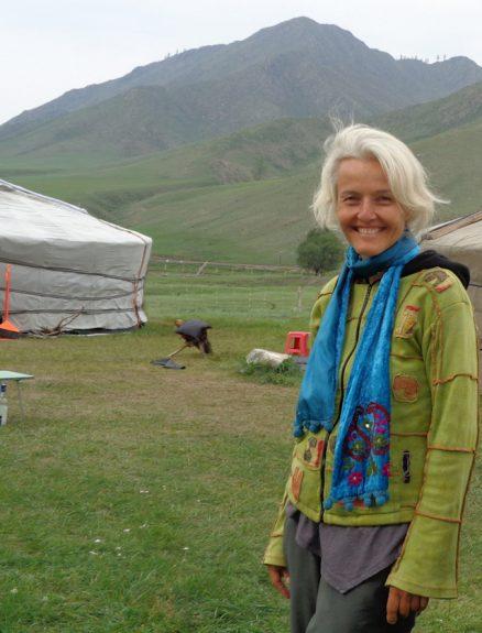 Sabine Koschier bei Schamanen in der Mongolei
