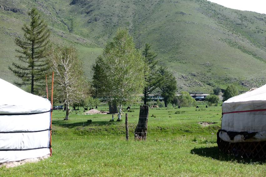 Schamanencamp in der Mongolei