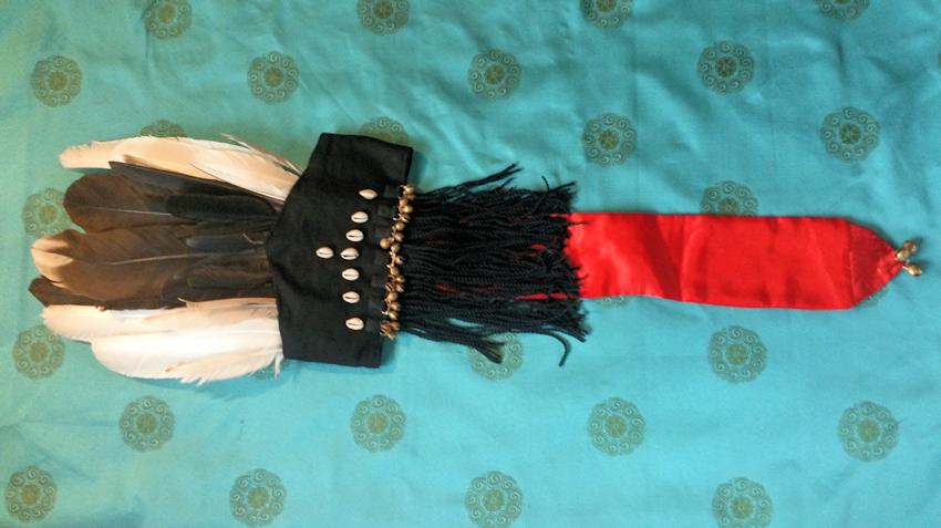 Meine mongolische Schamanenhaube