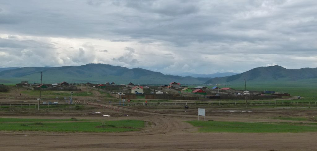 mongolische Siedlung