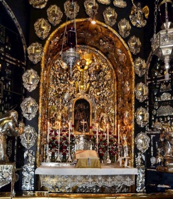 Gnadenkapelle Altarraum